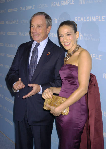 Real simple magazines mayor michael bloomberg and sarah jessica parker during real simple magazines get organized new york ccuart Images