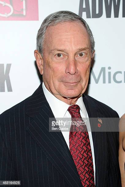 Mayor Michael Bloomberg attends the 2013 Adweek Hot List gala at Capitale on December 2 2013 in New York City