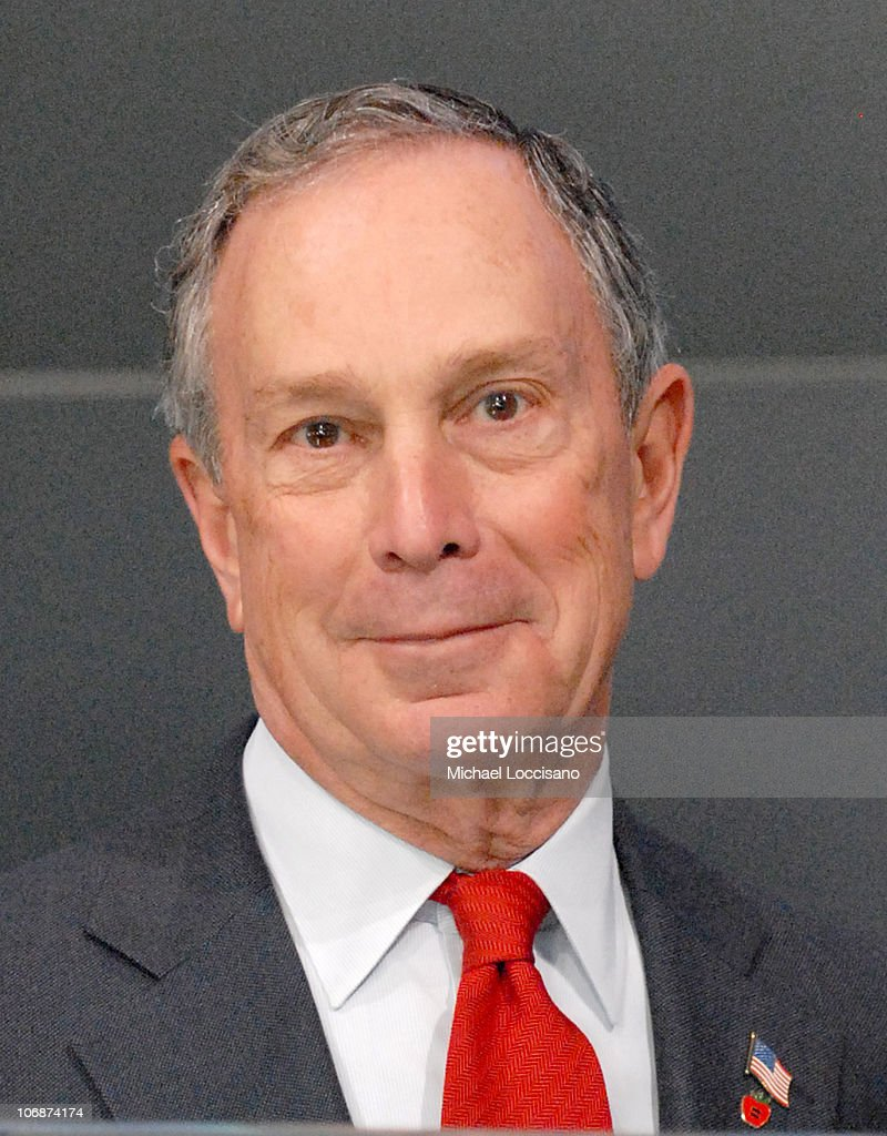 Mayor Michael Bloomberg and Daughter Georgina Ring in the Opening Bell and