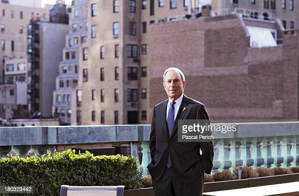Mayor Michael Bloomberg is photographed for Financial Times on April 15 2013 in New York City