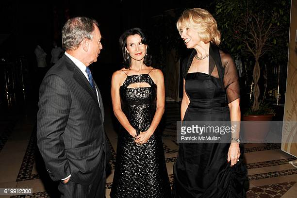 Mayor Michael Bloomberg Katherine Oliver and Dr Tara Cortes attend LIGHT YEARS LIGHTHOUSE INTERNATIONAL Salutes the Arts at Cipriani 42nd Street on...