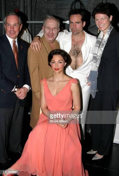 NYC Mayor Michael Bloomberg Ned Beatty Jason Patric the Mayors girlfriend Diana Taylor and Ashley Judd