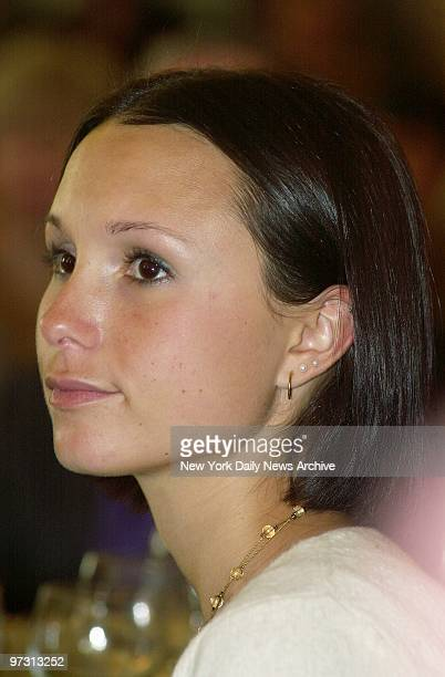 Mayor Michael Bloomberg's 19yearold daughter Georgina is present for a luncheon at the St Regis Hotel on Fifth Ave where the American Cancer Society...