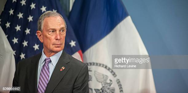 Mayor Mike Bloomberg prior to a bill signing ceremony in the Blue Room in City Hall in New York on Monday January 7 2013 The 73 year old former New...