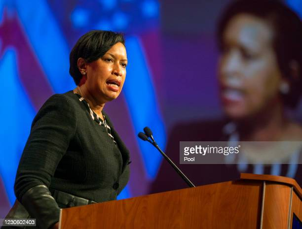 Mayor Muriel Bowser, District officials, and federal partners hold a public safety briefing on preparations for the upcoming 59th Presidential...