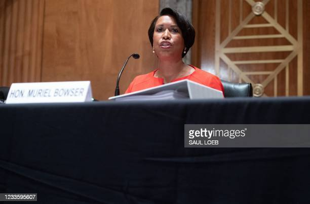 DC: Senate Committee Questions DC Mayor Bowser On Statehood