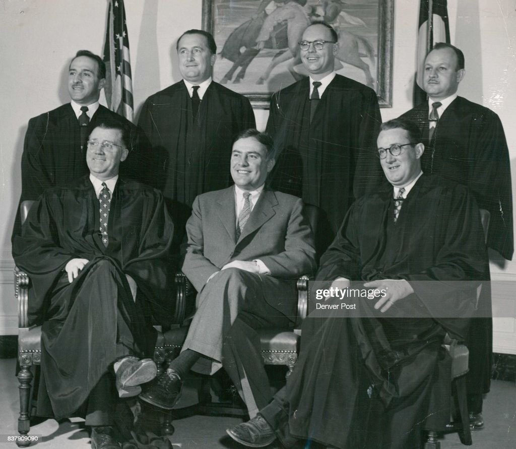 Mayor Newton Poses With Municipal Court Judges Who Have