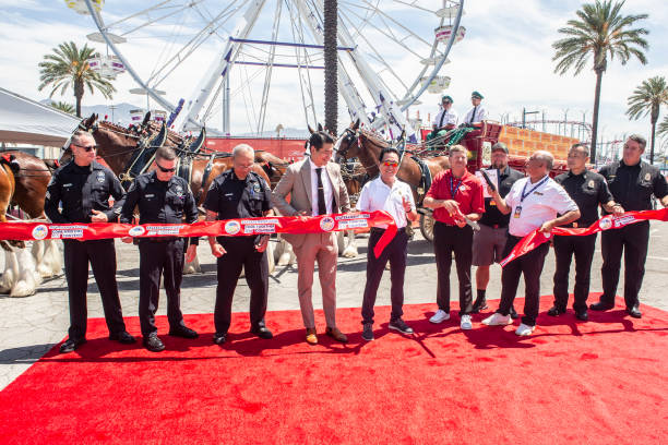 CA: State Fair Entertainment Hosts Opening Day Ceremony Of The Fair At Santa Anita Park