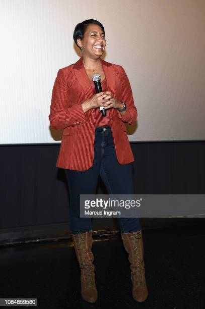Mayor of Atlanta Keisha Lance Bottoms attends a special screening of 'What Men Want' at Regal Atlantic Station on January 18 2019 in Atlanta Georgia