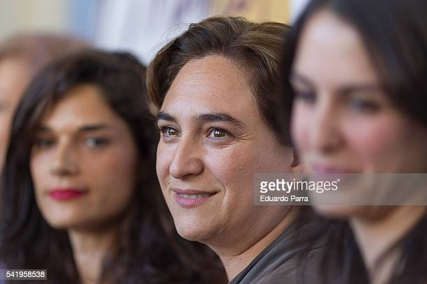Mayor of Barcelona Ada Colau attends the 'Mujeres cambiando el pais' event at La Latina theatre on June 21, 2016 in Madrid, Spain.