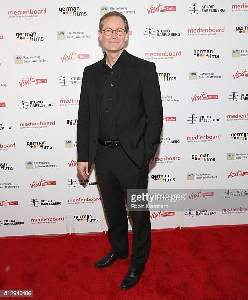Mayor of Berlin Michael Muller attends Studio Babelsberg Oscars Screening Reception on February 28 2016 in Los Angeles California