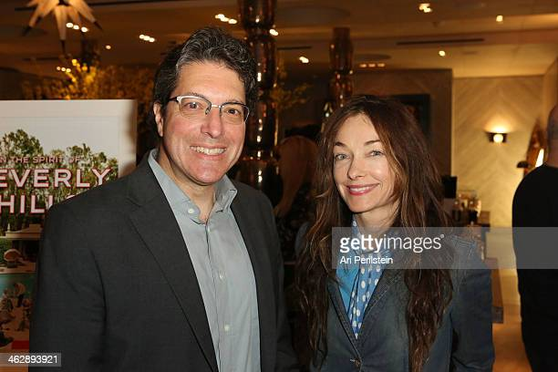 Mayor of Beverly Hills John Mirisch and Kelly Wearstler attend Assouline's In the Spirit of Beverly Hills Book Launch Cocktail Party Hosted by Kelly...