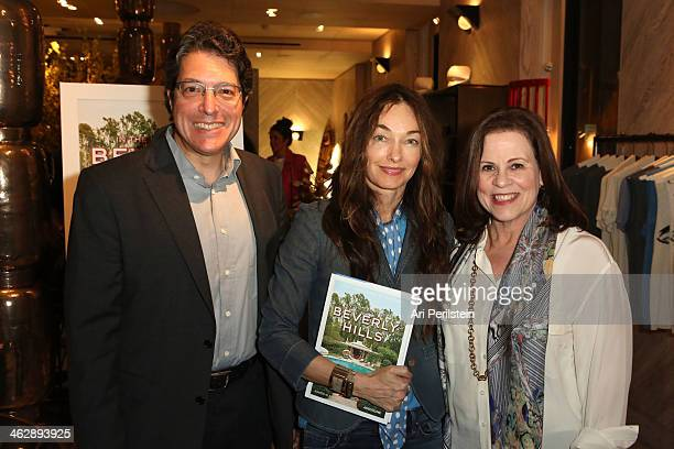 Mayor of Beverly Hills John Mirisch Kelly Wearstler and Author Nancie Clare attend Assouline's In the Spirit of Beverly Hills Book Launch Cocktail...