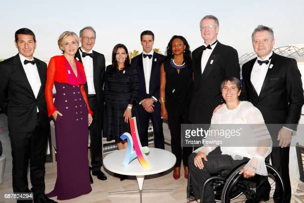Mayor of Cannes David Lisnard President of the Regional Council of IledeFrance Valerie Pecresse President of CNOSF Denis Masseglia Mayor of Paris...