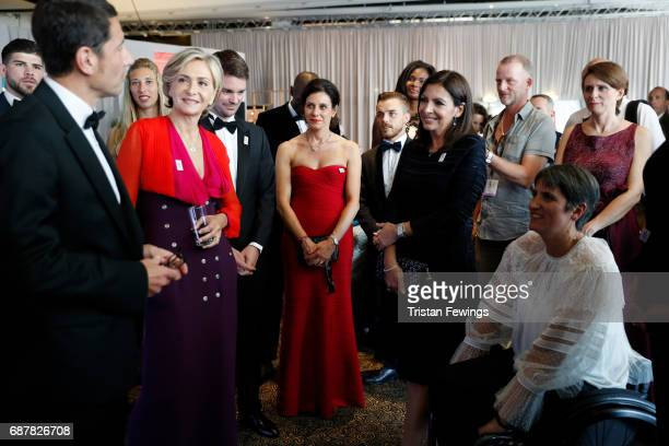 Mayor of Cannes David Lisnard President of the Regional Council of IledeFrance Valerie Pecresse Mayor of Paris Anne Hidalgo and President of the...