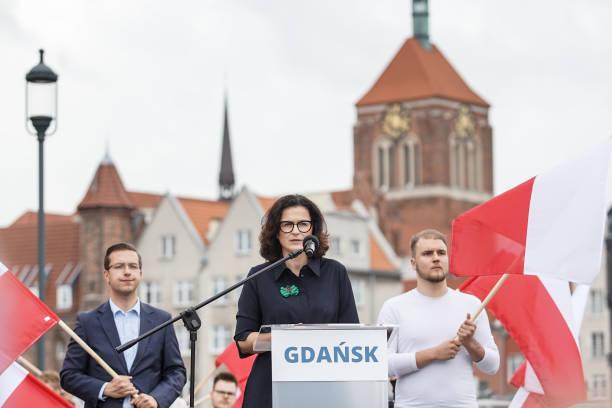POL: Rafal Trzaskowski Visits Gdansk
