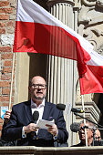 Mayor of gdansk pawel adamowicz speaking is seen in gdansk poland on picture id949655208?s=170x170