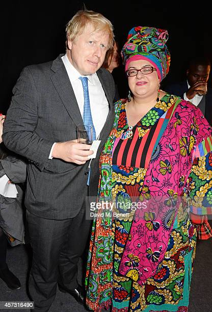 Mayor of London Boris Johnson and Camila Batmanghelidjh attend the London Evening Standard's '1000 London's Most Influential People' at The Francis...