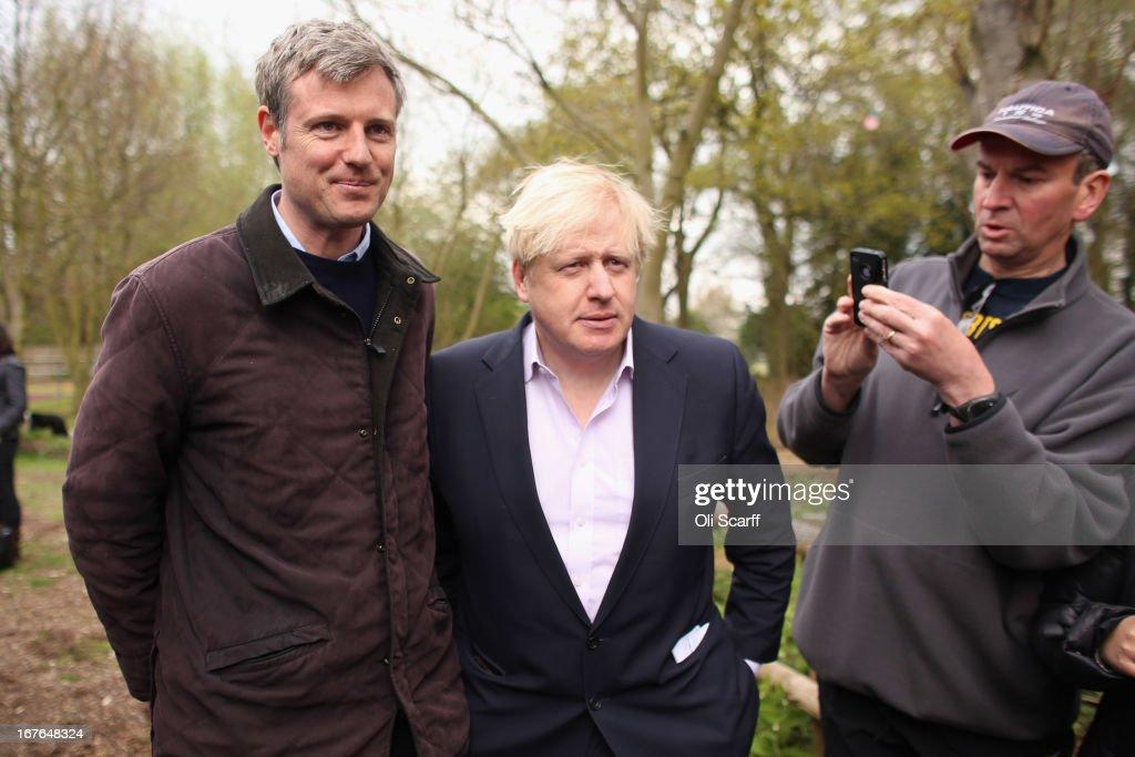 Boris Johnson Attends A Rally Against The Heathrow Expansion