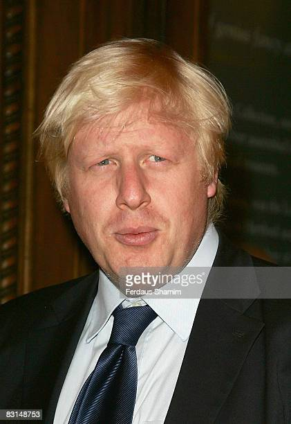 Mayor of London Boris Johnson attends the Evening Standard's party celebrating London's 1000 Most Influential People 2008 at The Wallace Collection...