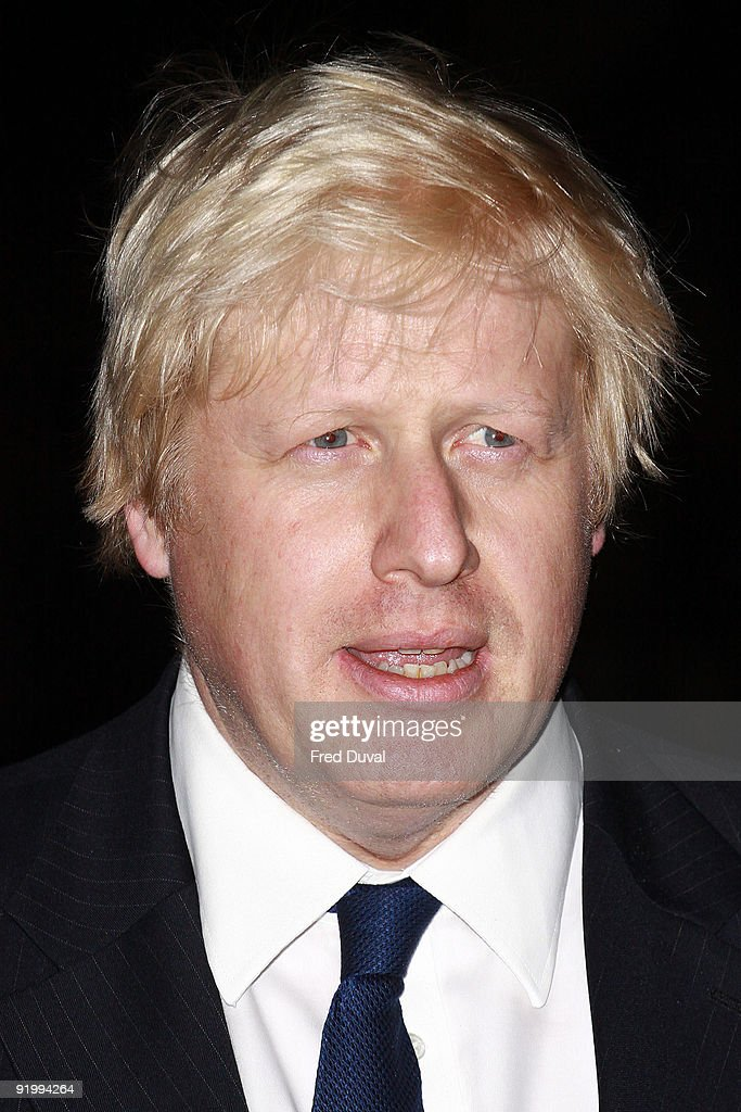 Mayor of London Boris Johnson attends the screening of 'Bright Star' during The Times BFI London Film Festival at Odeon Leicester Square on October 19, 2009 in London, England.