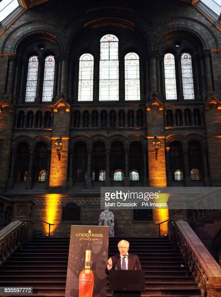 Mayor of London Boris Johnson during the Courvoisier Square Mile Masked Ball held at the Natural History Museum in central London