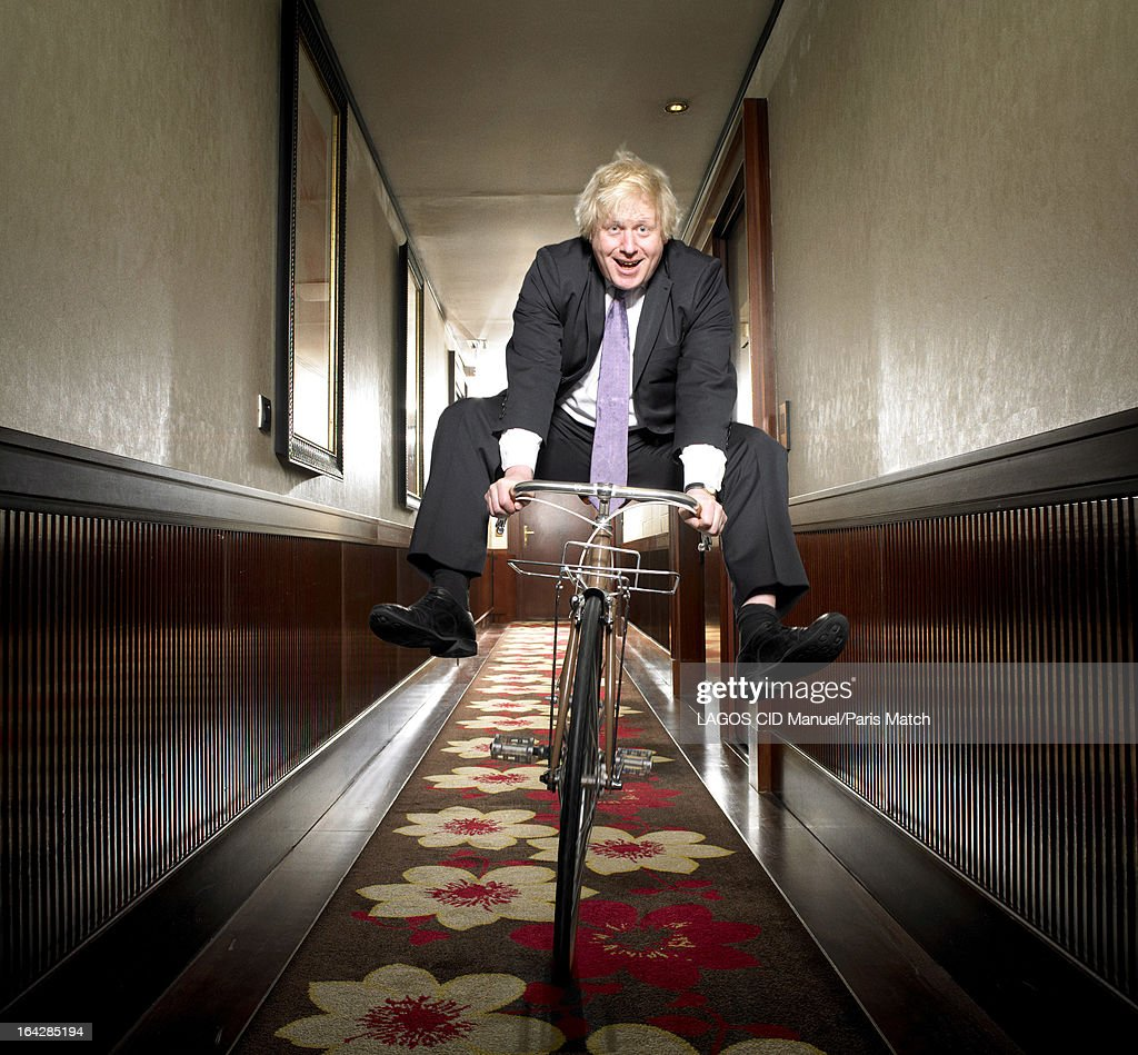 Boris Johnson,  Paris Match, Issue 3331