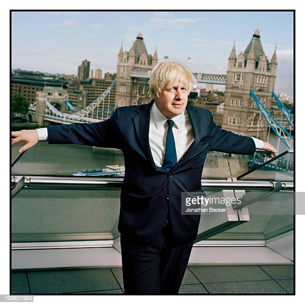 Mayor of London Boris Johnson is photographed for Tatler Magazine on September 3, 2009 in London, England.