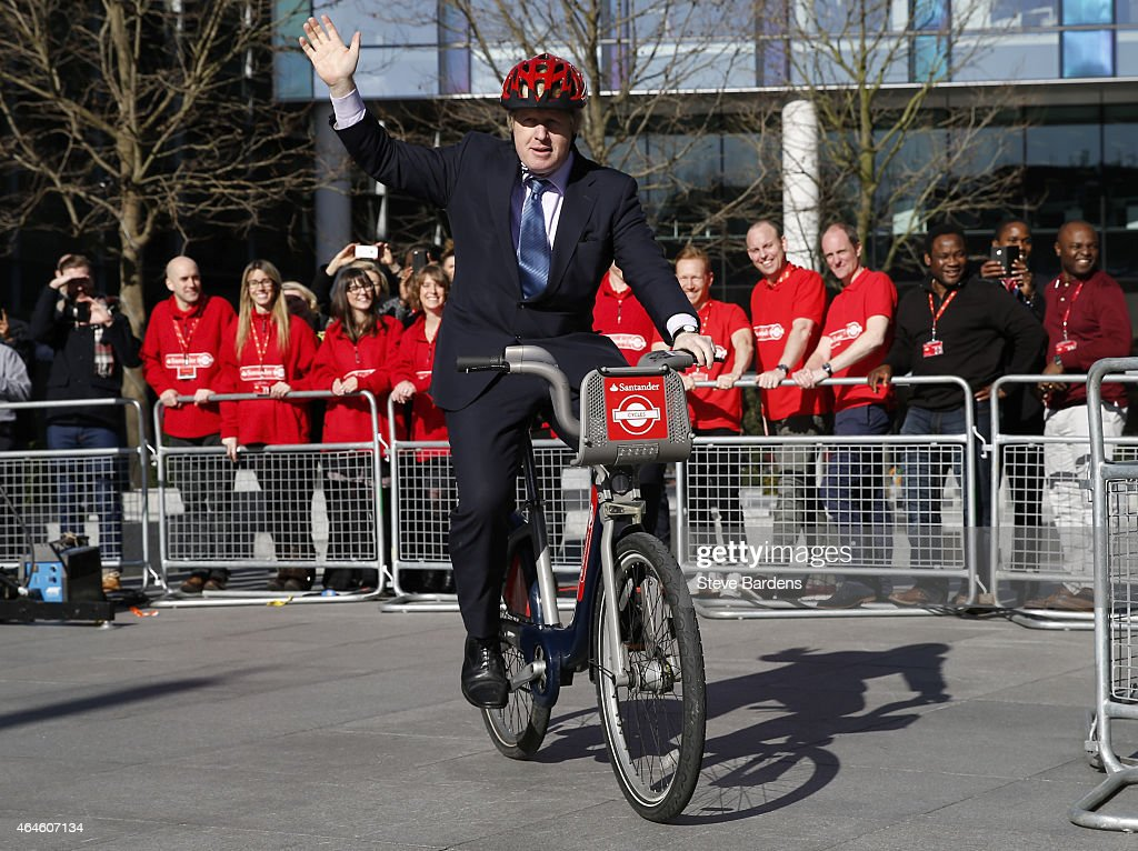 Santander Cycles Announcement - London : ニュース写真