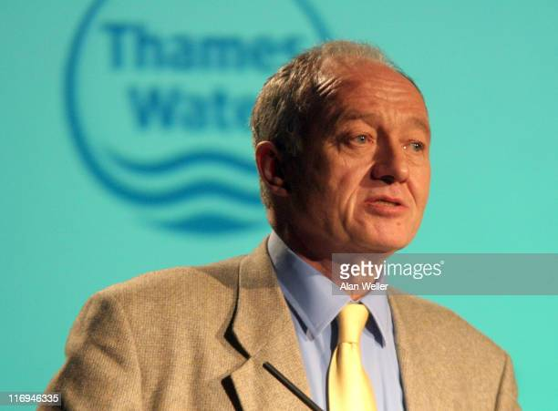 Mayor of London Ken Livingstone during Soil Association's 60th Anniversary Conference at The Brewery in London Great Britain