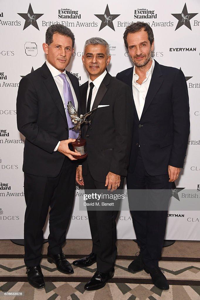 London Evening Standard British Film Awards - Winners : News Photo