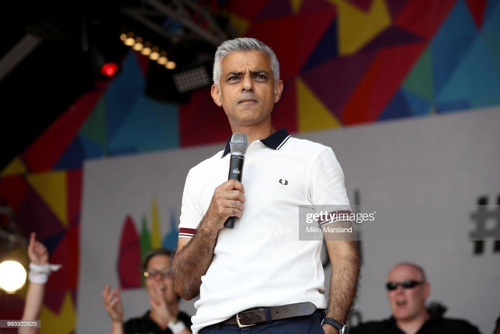 Pride In London 2018 : News Photo