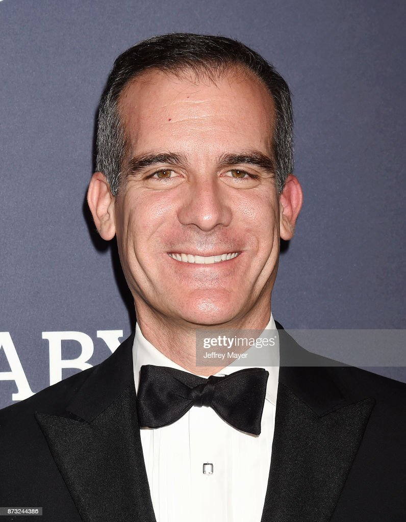 Mayor of Los Angeles Eric Garcetti attends the 2017 Baby2Baby Gala at 3Labs on November 11, 2017 in Culver City, California.