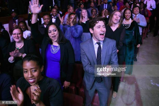 Mayor of Minneapolis MN Jacob Frey at BET Presents 19th Annual Super Bowl Gospel Celebration at Bethel University on February 1 2018 in St Paul...