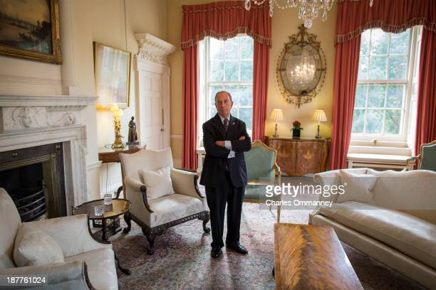 Mayor of New York and businessman Michael Bloomberg is photographed for Time Magazine on September 23 24 in Paris and London Pictured Mayor Bloomberg...