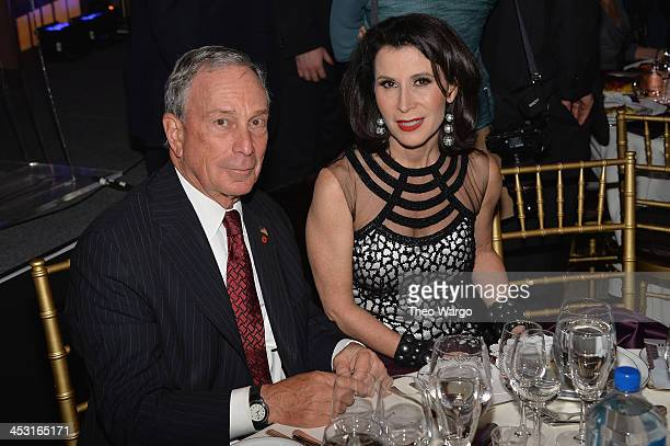 Mayor of New York City Michael Bloomberg and Commissioner of the New York City Mayor's Office of Media and Entertainment Katherine Oliver attend...