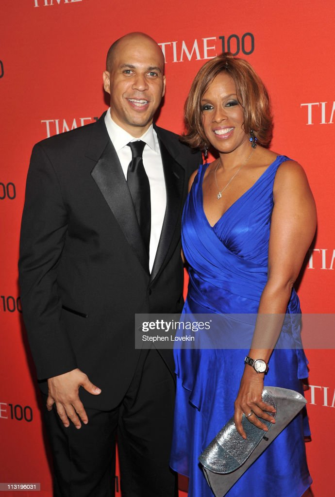 Mayor of Newark Cory Booker and Gayle King attend the TIME 100 Gala, TIME'S 100 Most Influential People In The World at Frederick P. Rose Hall, Jazz at Lincoln Center on April 26, 2011 in New York City.