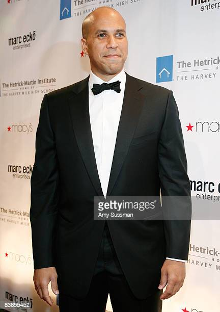 Mayor of Newark Cory Booker attends the 2008 Emery Awards at Cipriani on November 11 2008 in New York City