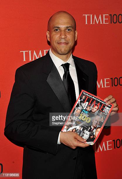 Mayor of Newark Cory Booker attends the TIME 100 Gala TIME'S 100 Most Influential People In The World at Frederick P Rose Hall Jazz at Lincoln Center...