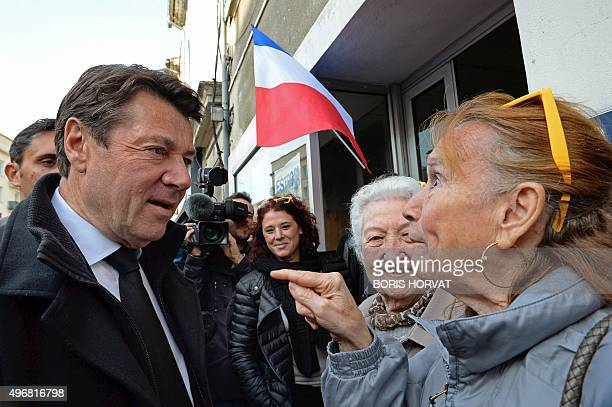 Mayor of Nice and French rightwing Les Republicains party candidate for the upcoming regional elections in the ProvenceAlpesCote d'Azur region...