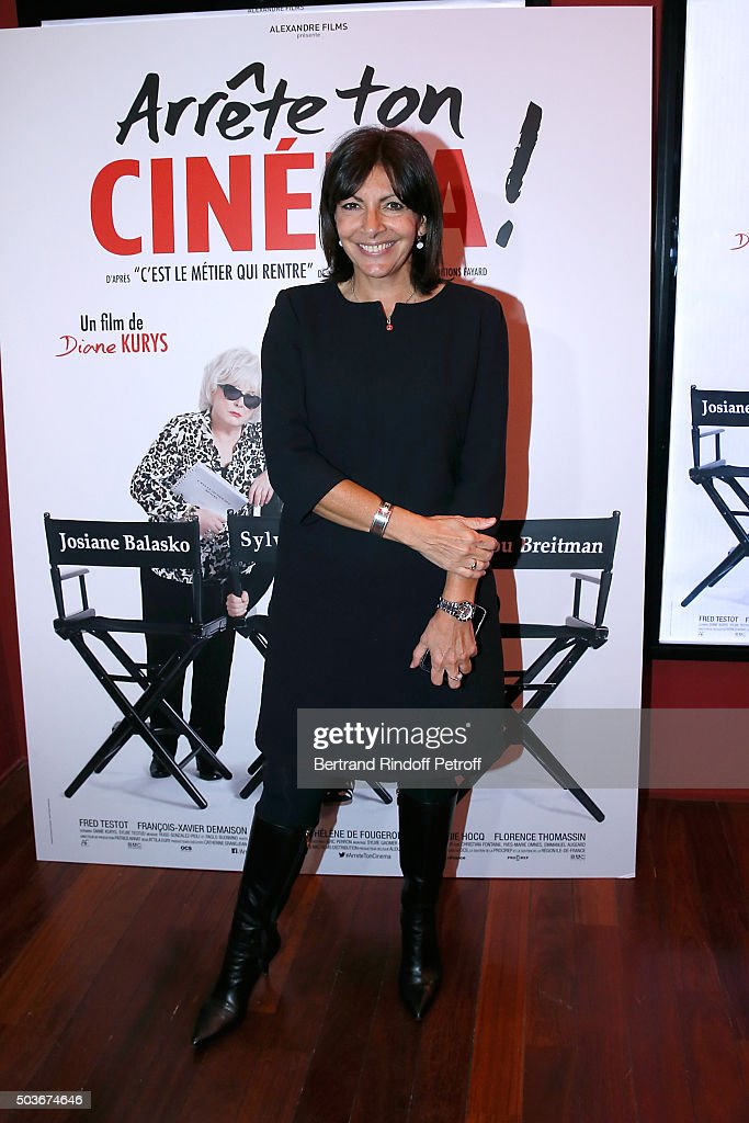 """Arrete Ton Cinema"" Paris Premiere At Cinema Publicis"