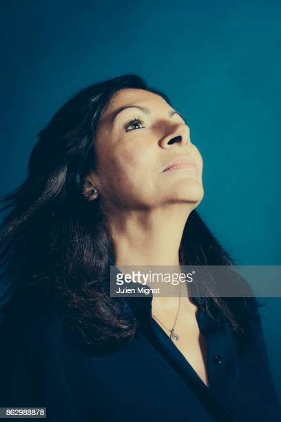 Mayor of Paris Anne Hidalgo is photographed for L'OBS on October 4 2017 in Paris France PUBLISHED IMAGE