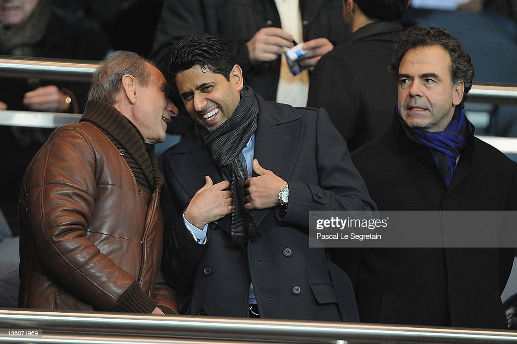 Celebrities Attend Paris Saint-Germain FC v LOSC Lille Metropole - Ligue 1 : News Photo