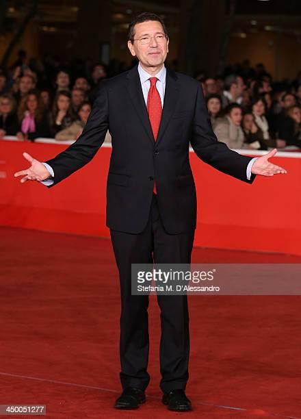 Mayor of Rome Ignazio Marino attends the Award Ceremony Red Carpet during the 8th Rome Film Festival at the Auditorium Parco Della Musica on November...