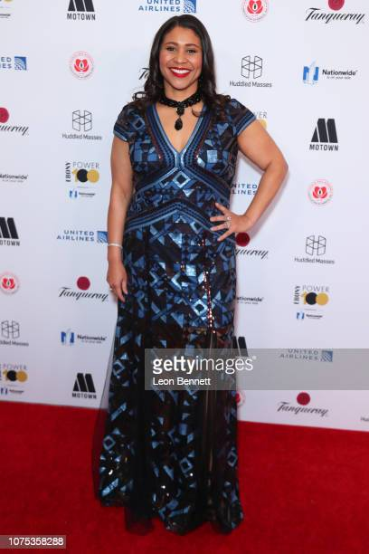Mayor of San Francisco London Breed attends Ebony Magazine's Ebony's Power 100 Gala at The Beverly Hilton Hotel on November 30 2018 in Beverly Hills...