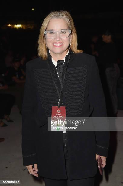 Mayor of San Juan Puerto Rico Carmen Yulin Cruz attends the AHF World AIDS Day Concert on December 1 2017 in Miami Florida