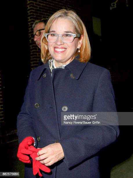 Mayor of San Juan Puerto Rico Carmen Yulin Cruz is seen on November 29 2017 in New York City