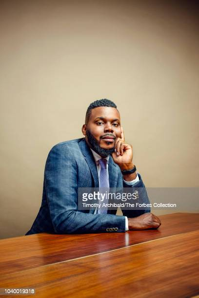 Mayor of Stockton, California, Michael Tubbs is photographed for Forbes Magazine at the Forbes Philanthropy Summit on May 30, 2018 in San Francisco,...