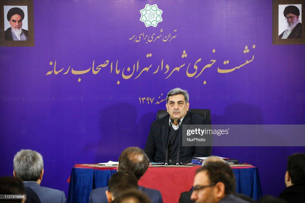 Mayor of Tehran Pirouz Hanachi : Nachrichtenfoto