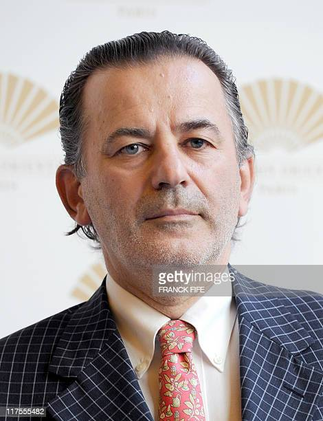 Mayor of the 1st district of Paris JeanFrancois Legaret attends the inauguration of the Mandarin Oriental hotel in Paris on June 28 2011 Mandarin...
